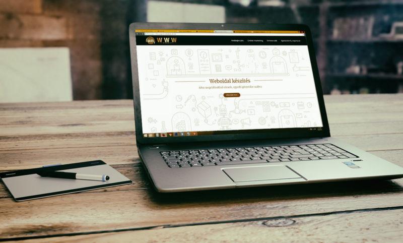 Weboldal készítés profi csapattal